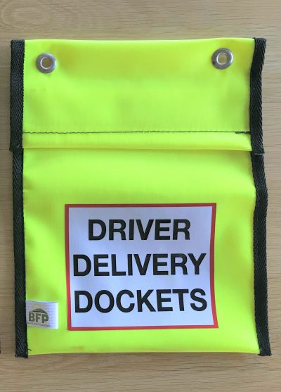 Driver Delivery Pocket